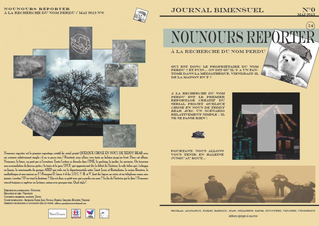 Nounours reporter