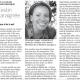 Journal Le Monde_Véronique Sauger 20070610