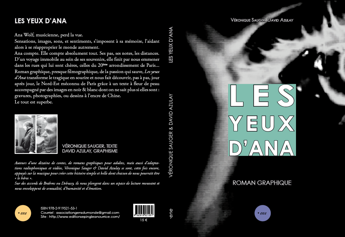 Les yeux d'Ana de Veronique Sauger & David Azulay_isbn9782919521531