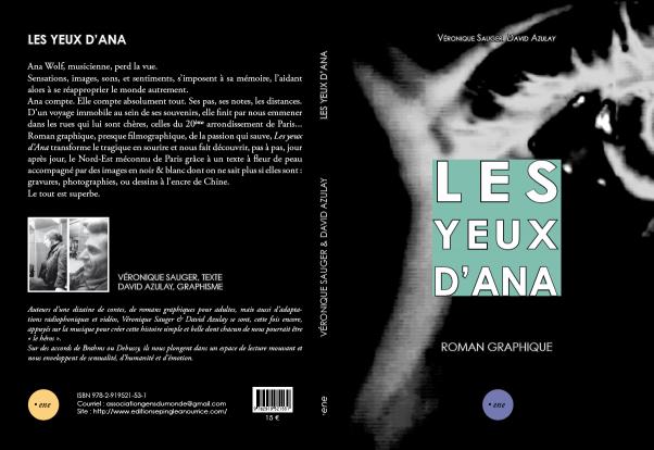 Les yeux d'Ana de Veronique Sauger & David Azulay_isbn9782919521531